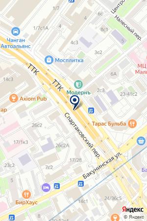 ОБУВНОЙ МАГАЗИН EVITA на карте Москвы