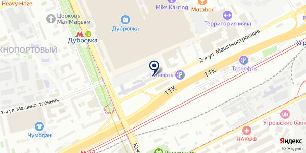 СЕРВИСНАЯ МАСТЕРСКАЯ УНИВЕРСАЛ-Б на карте Москве
