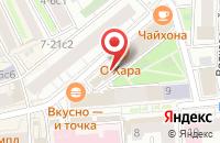 Схема проезда до компании Творческий Союз Профессиональных Художников в Москве