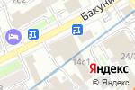 Схема проезда до компании САН Медиа в Москве