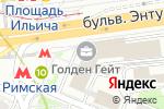 Схема проезда до компании Флагман Тревел в Москве