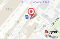 Схема проезда до компании Инвест-Курс в Москве