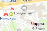 Схема проезда до компании Арт-вечеринки PaintOn в Москве