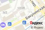 Схема проезда до компании Центральный Российский Дом Знаний в Москве