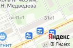 Схема проезда до компании INSPIRE в Москве