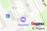 Схема проезда до компании ecochehol.ru в Москве