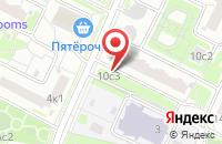 Схема проезда до компании Бастион М в Москве