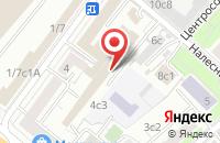Схема проезда до компании Тв Автограф в Москве