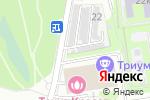 Схема проезда до компании Орбита-95 в Москве
