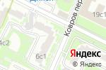 Схема проезда до компании Швейное ателье на Новорогожской в Москве