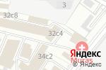 Схема проезда до компании ЮККИР в Москве