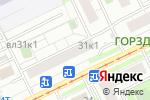 Схема проезда до компании Цветочный дизайн в Москве