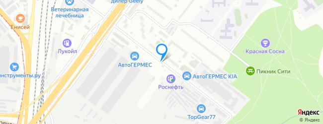 улица Красная Сосна