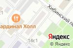Схема проезда до компании Майя-С в Москве