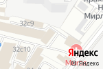 Схема проезда до компании Адвокат Зонова И.Н. в Москве
