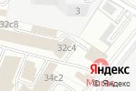 Схема проезда до компании Адвокат Хачатрян Р.А. в Москве