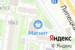 Схема проезда до компании Медьведъ в Москве