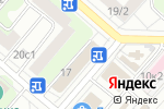 Схема проезда до компании Останкино в Москве