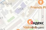 Схема проезда до компании Чайхона в Москве