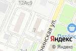 Схема проезда до компании Меридиан+ в Москве