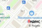 Схема проезда до компании Азбука-Сервис в Москве