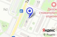 Схема проезда до компании АВТОШКОЛА ТМП-20 в Москве