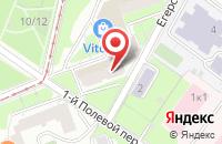 Схема проезда до компании Ремонтно-Строительная Организация «Восток» в Москве