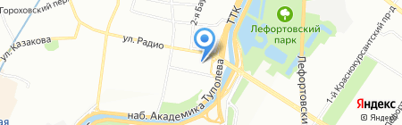 Спутник Логистикс на карте Москвы