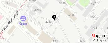 Мazda у Шустова на карте Москвы