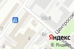 Схема проезда до компании Шиномонтажная мастерская в Москве