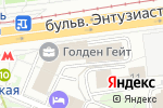 Схема проезда до компании 10-22MM в Москве