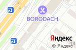 Схема проезда до компании Модельер в Москве