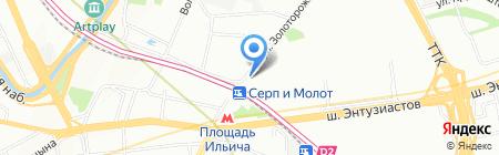 ФОРТ Технология на карте Москвы