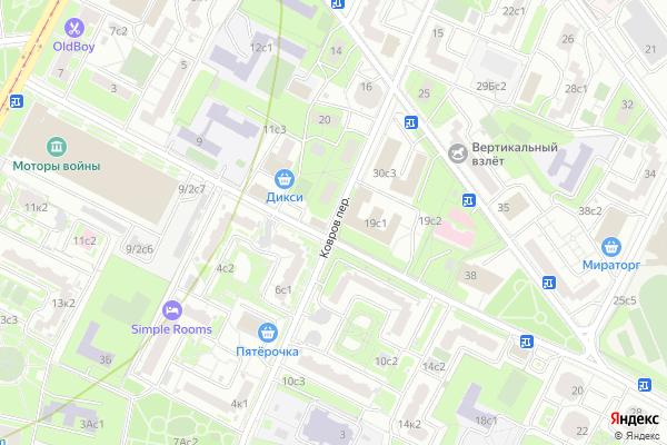 Ремонт телевизоров Ковров переулок на яндекс карте