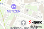 Схема проезда до компании Часовня Новомучеников и Исповедников Российских у Рогожской заставы в Москве