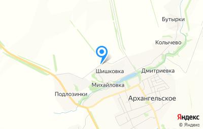 Местоположение на карте пункта техосмотра по адресу Тульская обл, Каменский р-н, д Шишковка