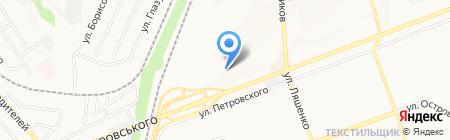 Теплокомфорт на карте Донецка