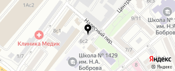 АСМ-МОТОРС на карте Москвы
