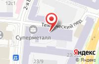 Схема проезда до компании Спецстройснаб в Москве