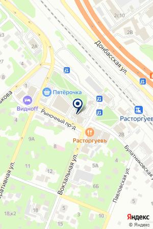 ВИДНОВСКОЕ ГОРПО на карте Видного