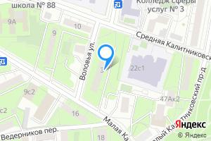 Снять комнату в Москве м. Волгоградский проспект, Воловья улица, 3, подъезд 3