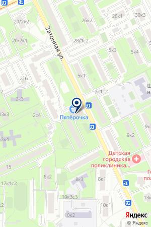 САЛОН КРАСОТЫ АЛИТА на карте Москвы