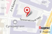 Схема проезда до компании Евротрейдинг в Москве