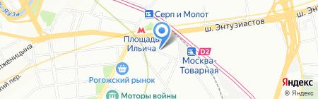 НикМаркет на карте Москвы