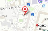 Схема проезда до компании Факт в Москве