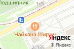 Схема проезда до компании Энсо Сервис в Москве