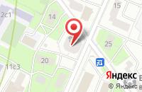 Схема проезда до компании Restart в Подольске