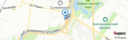Высотные здания на карте Москвы