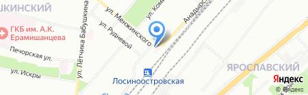 Планета Обуви на карте Москвы