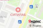 Схема проезда до компании Колеса Победы в Москве